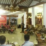 Seminar tangkal Hoax yang digelar di Pendopo Ronggo Hadi Negoro Blitar.(Foto : Aunur Rofiq/BlitarTIMES)