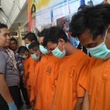 Buntut Penyerangan Rapat Mahasiswa, Polres Tulungagung Tangkap Enam Pelaku
