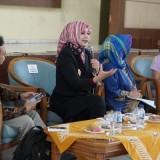 Bupati Jember dr Hj Faida MMR dalam seminar di acara Festival HAM Indonesia. (foto : istimewa)