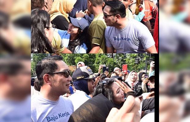 Baju kerja Ridwan Kamil,  dipuji sekaligus dihujat warganet (Ist)