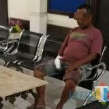 Matal, pelaku pembunuhan Barno dan Musini./ Foto : Dokpol / Tulungagung TIMES