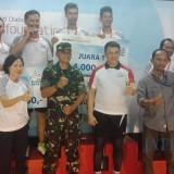 Penutupan Kejuaraan Bulu Tangkis Antar Media di Jatim