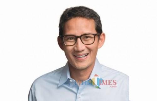 Cawapres Sandiaga Uno (Foto : Medsos /  Jatim TIMES)