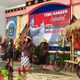 Pertunjukkan lumbung desa di Temu Kangaen Sahabat Nasionalisme se-Kota Batu di Balai Desa Pandanrejo Kecamatan Bumiaji, Minggu (18/11/2018). (Foto: Irsya Richa/MalangTIMES).