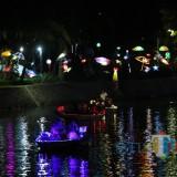Delegasi SNS diajak mengelilingi Sungai Kalimas