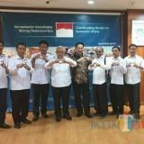 Empat dari kanan. Purnadi Kepala Bapenda Kabupaten Malang bersama Wabup Malang dan Kepala OPD lainnya (Humas for MalangTIMES)