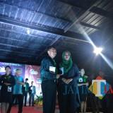 Ahmad Nur Ilham (kiri) dan Shella Savana, duta Brawijaya Edupark 2018 terpilih. (Hendra Saputra)
