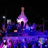 Kemeriahan Festival Getih Getah Gula Kelapa Candi Simping.(Foto : Team BlitarTIMES)
