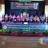 Pembukaan Pekan Budaya Kota Blitar 2018.(Foto : Team BlitarTIMES)