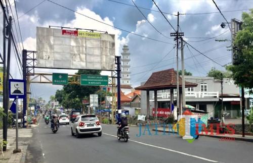 Suasana di Jl Pattimura, Kelurahan Temas, Kecamatan Batu. (Foto: Irsya Richa/MalangTIMES)