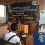Acara Ngobrol Pintar yang digelar BNN Lumajang (Foto : Moch. R. Abdul Fatah / Jatim TIMES)