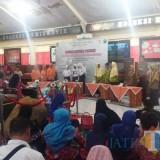 Lomba cerdas cermat di Museum Daerah Kabupaten Lumajang. (Foto: Pawitra/JatimTIMES)