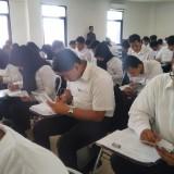 Suasana Test Calon Tenaga Teknis TIK Pengelola Aplikasi di tingkat kelurahan dan kecamatan. (Ist)