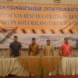 Suasana saat penyusunan Renstra DPUPR Kota Malang (Anggara Sudiongko/MalangTIMES)