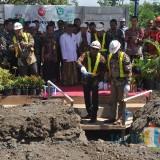 Bupati Pasuruan memulai pembangunan offtake Umbulan.