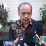 Kepala Dinas Sosial Kabupaten Jombang, Moch Saleh saat diwawancarai. (Foto : Adi Rosul / JombangTIMES)