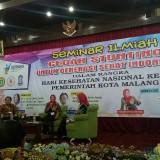 Seminar Ilmiah Cegah Stunting untuk Generasi Sehat Indonesia (foto: Imarotul Izzah/MalangTIMES)