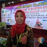 Seksi Kesga dan Gizi Dinas Kesehatan Kota Malang Meifta Eti Winindar SST MM. (foto: Imarotul Izzah/Malang Times)