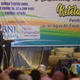 Walik Kota Kediri Abdullah Abu Bakar saat memberikan sambutan. (ist)