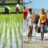 Ilustrasi nelayan dan petani (Ist)