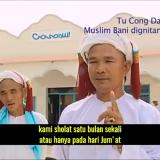 Muslim Cham Vietnam memiliki cara beribadah yang aneh dan unik. Salah satunya salat satu bulan sekali dan cukup diwakili golongan elite dalam komunitas. (SC).