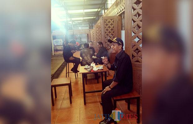 Suasana bangunan kios di Pasar Induk inilah nantinya akan ditargetkan menjadi sentra kuliner di Kota Banyuwangi.