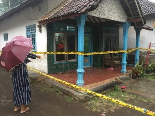 Lokasi pembunuhan Juari korban pengeroyokan berujung kematian, Kecamatan Turen (Foto : Ashaq Lupito / MalangTIMES)