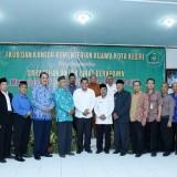 Foto bersama Wali Kota Kediri Abdullah Abu Bakar bersama FKUB dan PAUB-PK. (Foto: Ist)