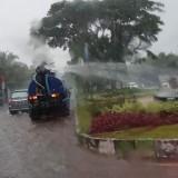 Foto Petugas Siram Taman Saat Hujan Dihujat Netizen, Begini Klarifikasi Disperkim Kota Malang