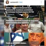 Meme di Instagram terkait pernyataan Prabowo mengenai pemindahan kedubes Australia ke Yerusalem (Ist)