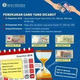 Screenshot informasi uang pecahan yang akan dicabut pemerintah di akhir tahun 2018 (@bank_indonesia)