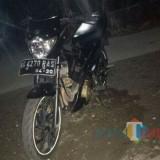 Sepeda motor yang hilang diembat maling di parkir rumah kos Ketepeng Kepatihan Tulungagung (Foto : Istimewa / TulungagungTIMES)