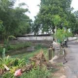 Inilah sungai yang dibuangi kotoran atau limbah ayam potong (Agus Salam/JatimTIMES)
