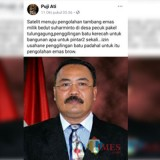 Salah satu postingan Puji Ati yang melakukan fitnah mepada korban Suharminto. / Foto : Istimewa / Tulungagung TIMES