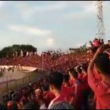 Viral, Teriakan Prabowo Bergemuruh Usai Semen Padang Tundukkan Persita di Stadion Agus Salim