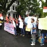 HUT OPM, Mahasiswa Papua Gelar Aksi 5 Menit di Balai Kota Malang