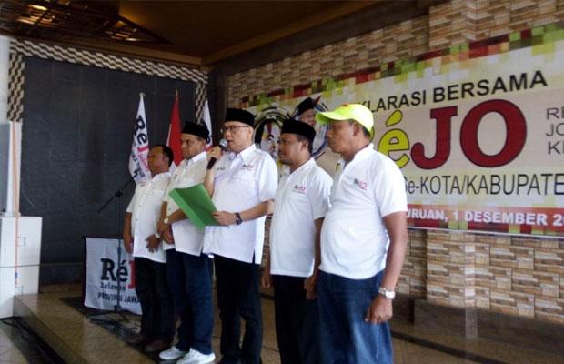 Deklarasi Relawan Jokowi Pasuruan Raya
