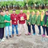Kunjungan studi lapangan mahasiswa Pertanian Unisba Blitar ke PT Nusantara Segar Abadi.