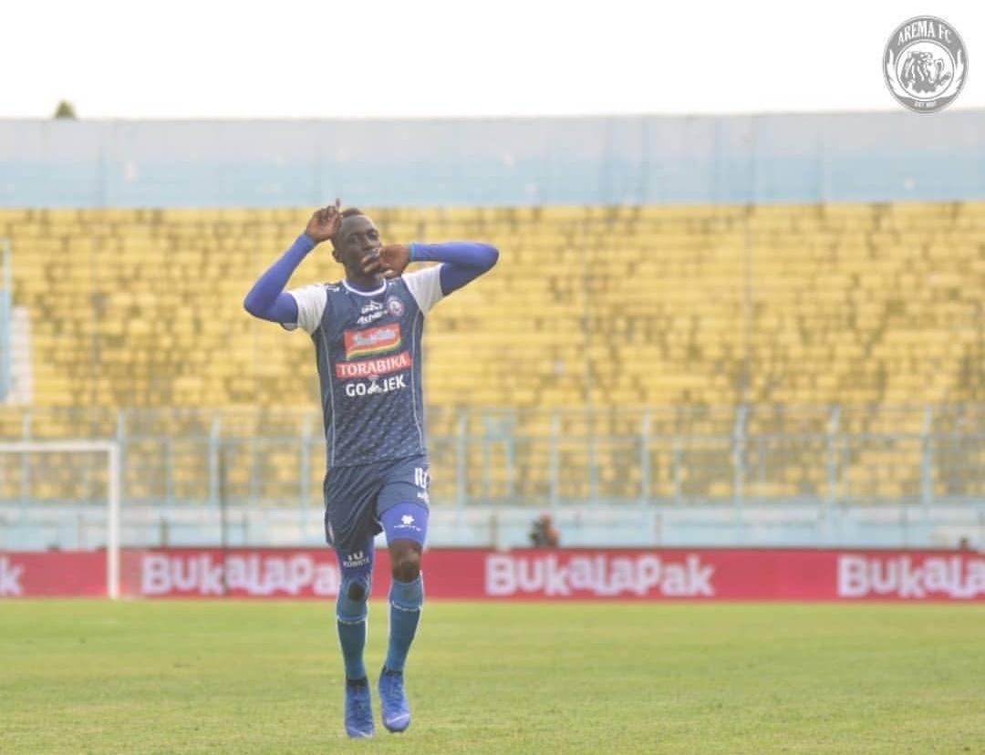 Penentu kemenangan Arema FC atas PS TIRA, Makan Konate (instagram)