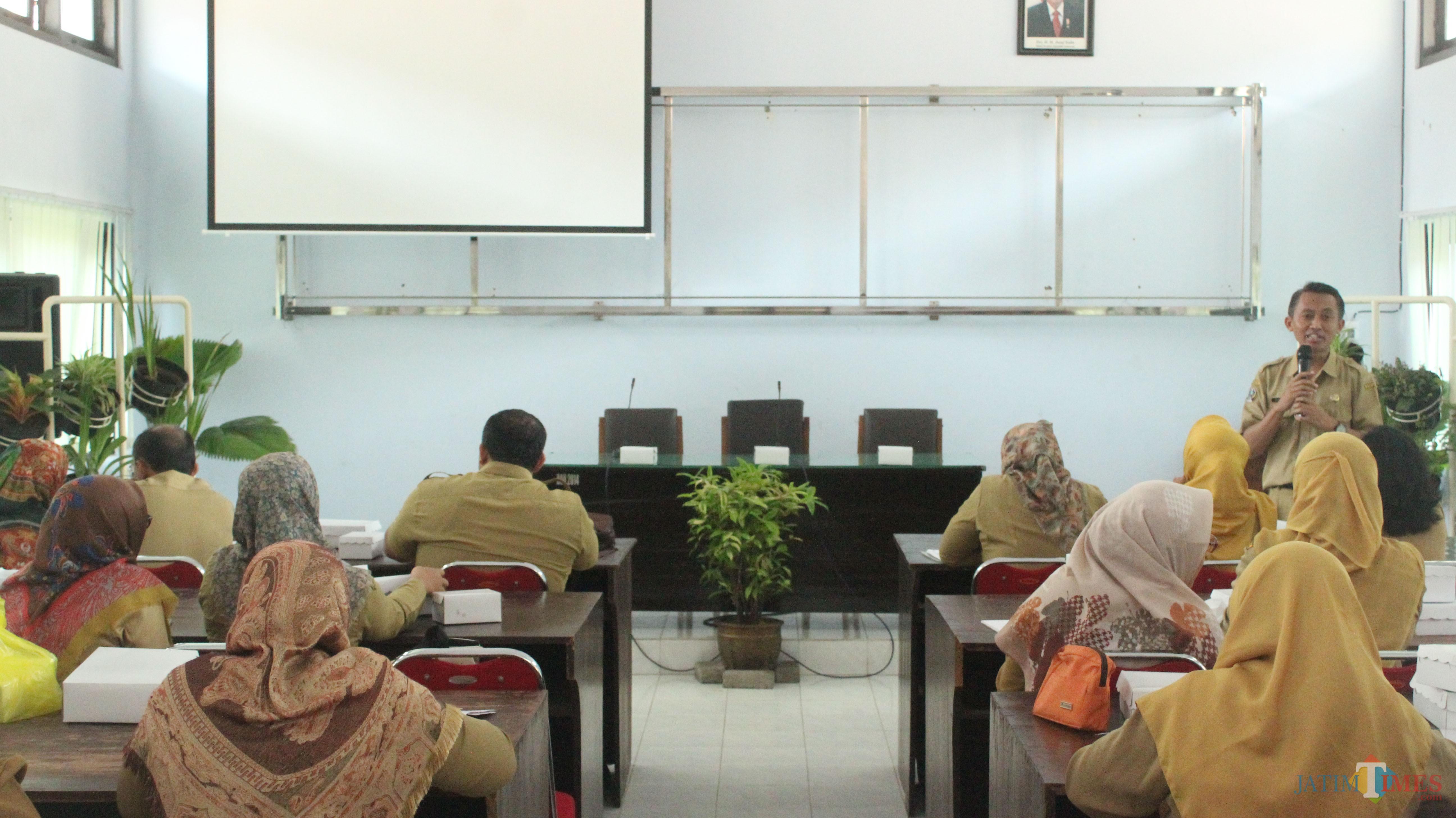 Workshop TBC anak yang digelar Dinkes Kab Blitar.(Foto : Aunur Rofiq/BlitarTIMES)
