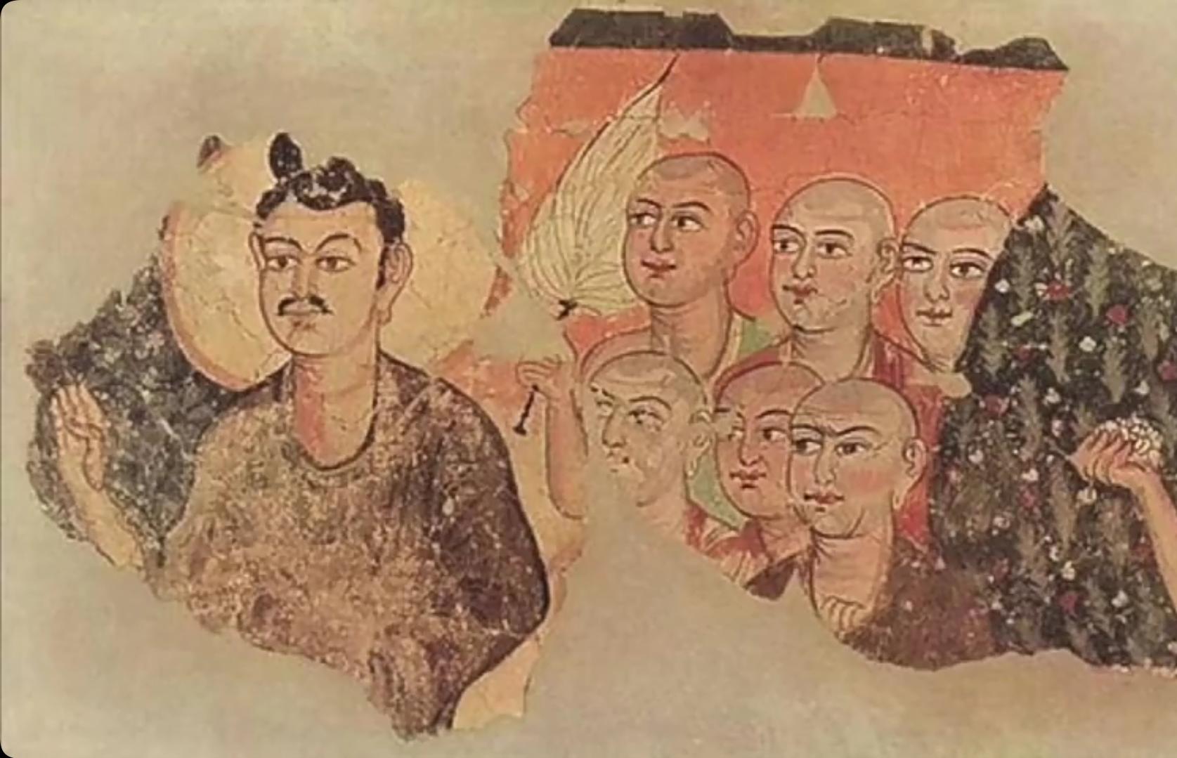 Elect sosok mirip biksu yang merupakan penganut agama Manichaenism. (repro Daftra5)