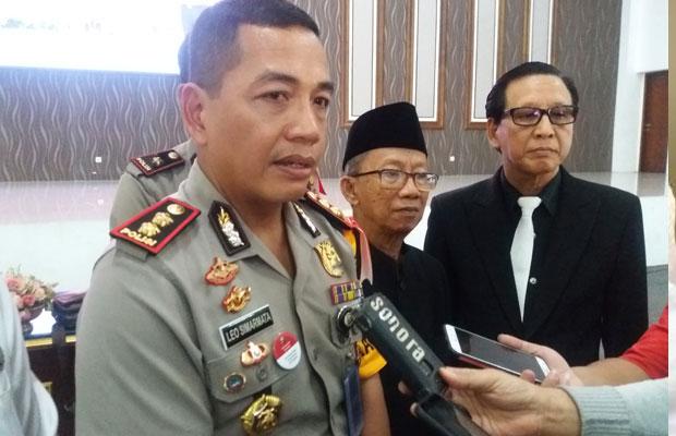 Waka Polrestabes Surabaya AKBP Leo Simarmata