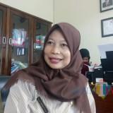 Kepala Puskesmas Cisadea Kustiningtyas SKL. (foto: Imarotul Izzah/Malang Times)
