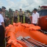 Apel kesiapsiagaan bencana alam yang digelar Pemkab Blitar.(Foto : Team BlitarTIMES)