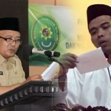 Ustad Abdul Somad dan Wabup Malang HM Sanusi menyampaikan mengenai ASN sebagai jalan surga (MalangTIMES)