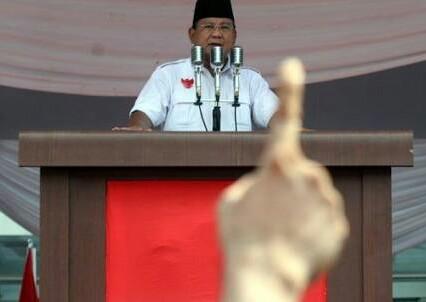Capres Prabowo Subianto kembali marah pada media-media nasional dan para jurnalis (Ist)