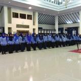 173 PNS baru saat dilantik Bupati Jember dr. Hj. Faida MMR