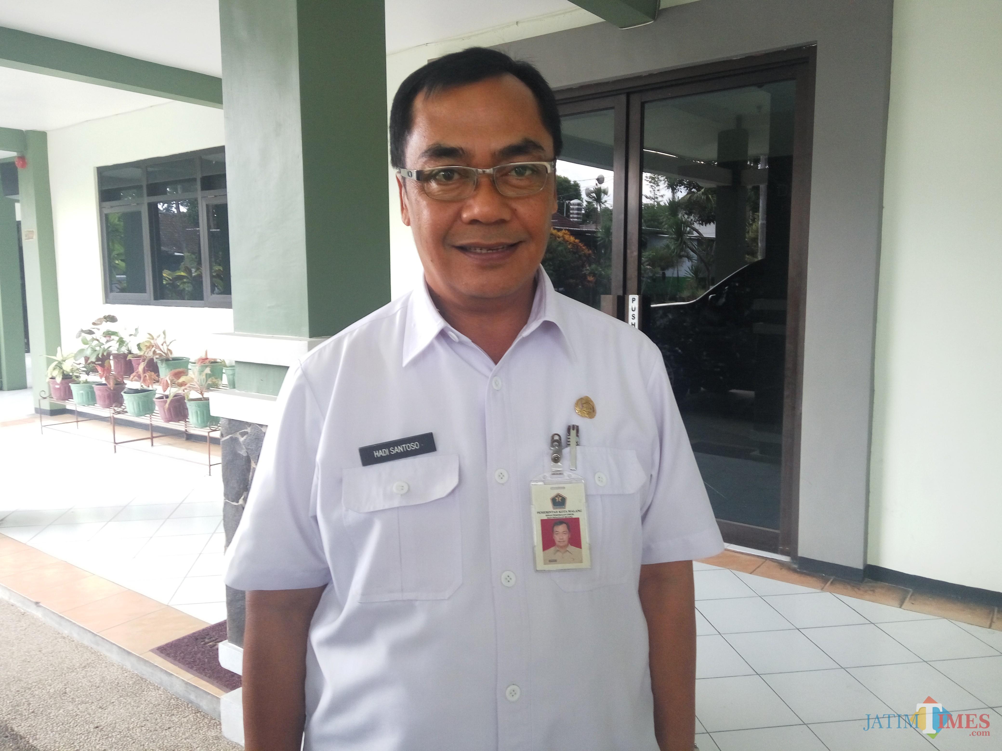 Kepala DPUPR Kota Malang Hadi Santoso (Anggara Sudiongko/MalangTIMES)