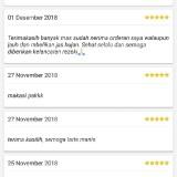 Screenshot komentar akun driver Gojek berinisial BM. (istimewa)
