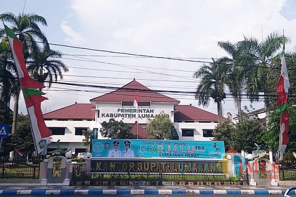 Kantor Pemkab Lumajang. (Foto: Pawitra/JatimTIMES)